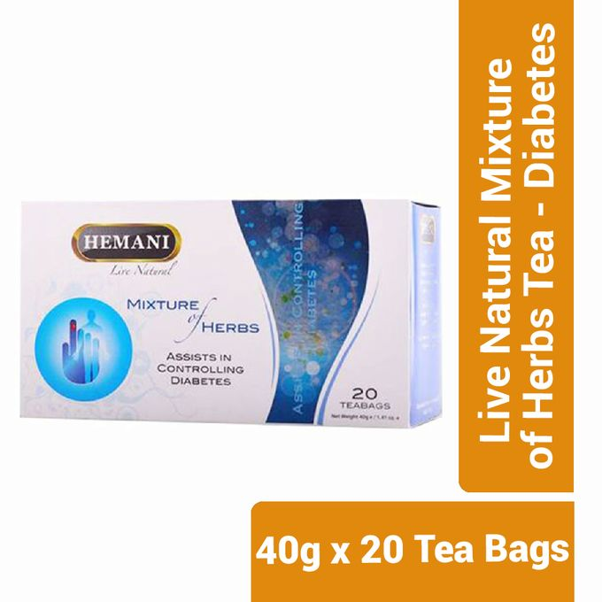 Hemani Live Natural Mixture of Herbs Tea - Diabetes