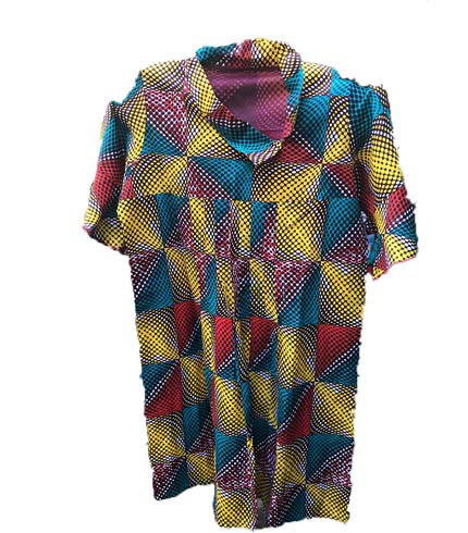 African Print Dress - Multicoloured