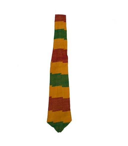 Necktie - Red, Yellow & Green