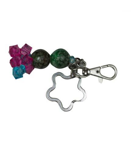 Green & Violet Keyholder