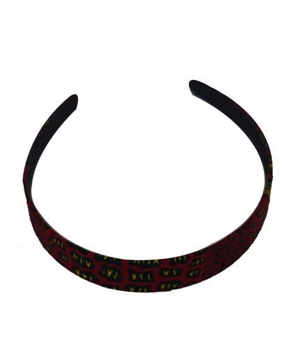 Violet African Print Headband