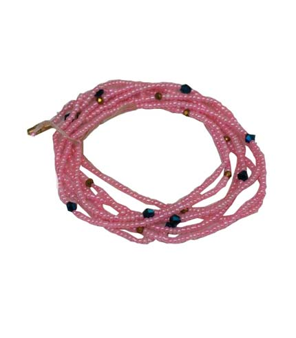 Beaded Necklace - Pink