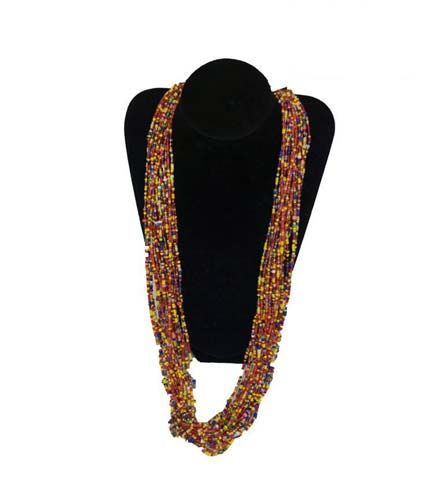 Beaded Necklace - Multicoloured