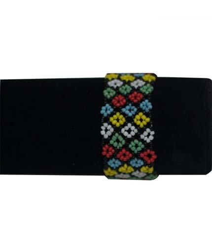 Multicoloured African Beaded Bracelet