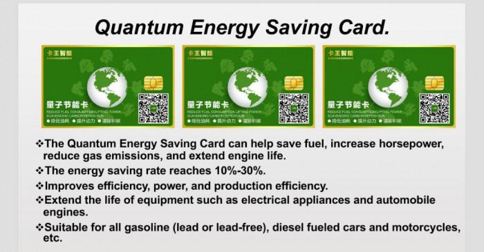 Quantum energy savingd car