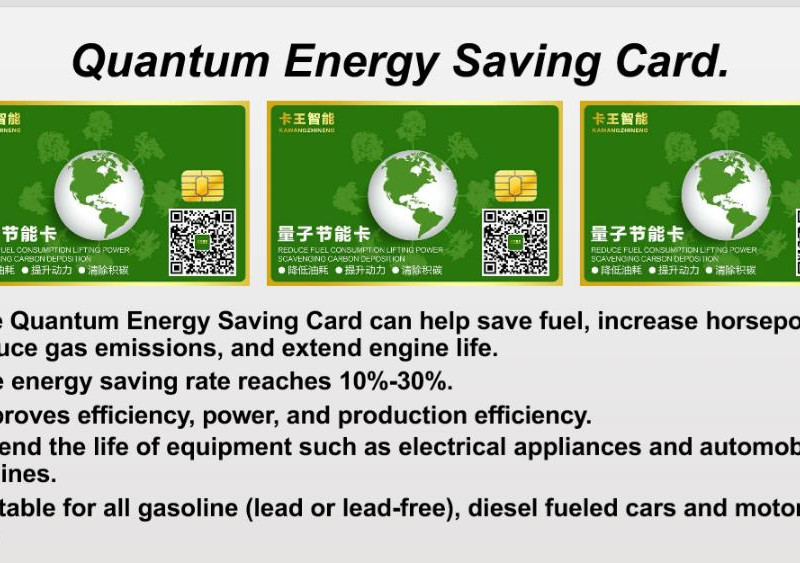 Quantum energy savingd car