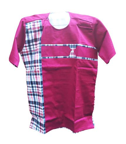 African Print Shirt - Pink