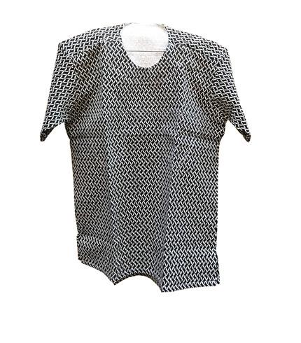 Black Design African Print Shirt