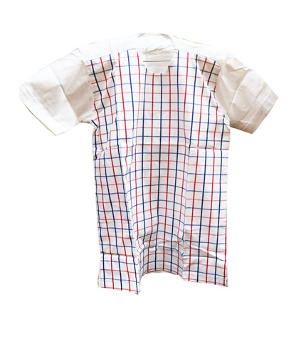African Print Shirt - Checkered