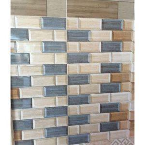 Wall Tiles - Brown & Blue