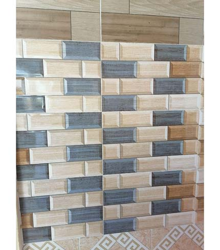 Wall Tiles - Brown & Blue