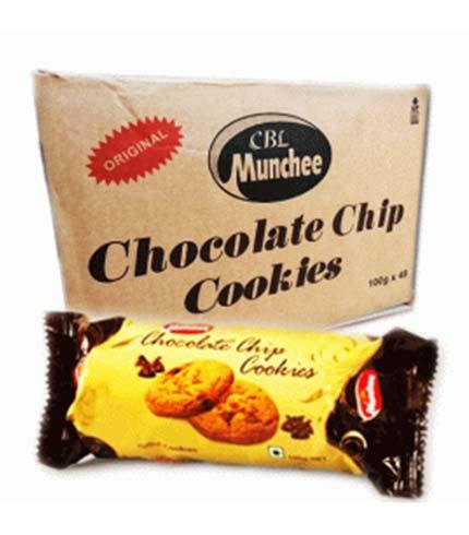 Munchee Chocolate Chips Cookies 100g