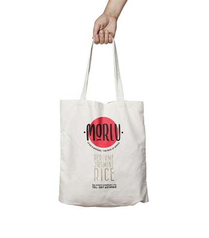 Morlu Shopping Bag - White