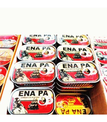 Ena Pa Sardines in Vegetable Oil 125g x 10 Tins