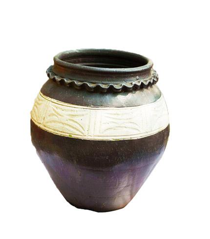 Ali Baba Wavy Neck Flowerpot