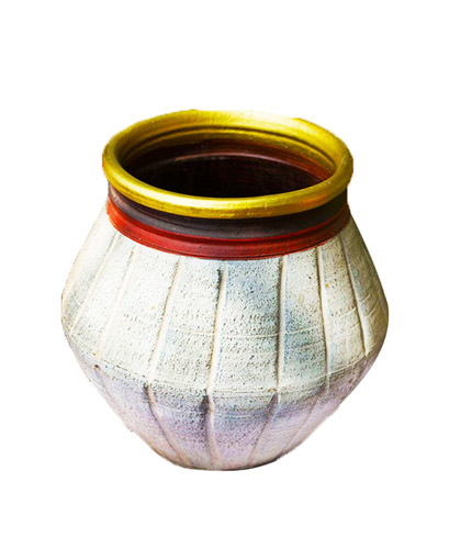 Alibaba Flower Pot- Nigerian Design