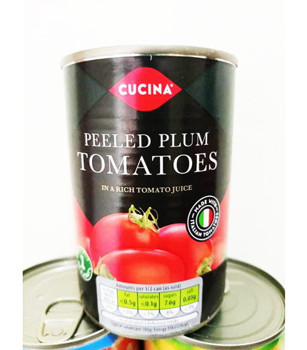 Cucina Peeled Plum Tomatoes