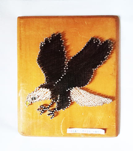 Eagle String Art
