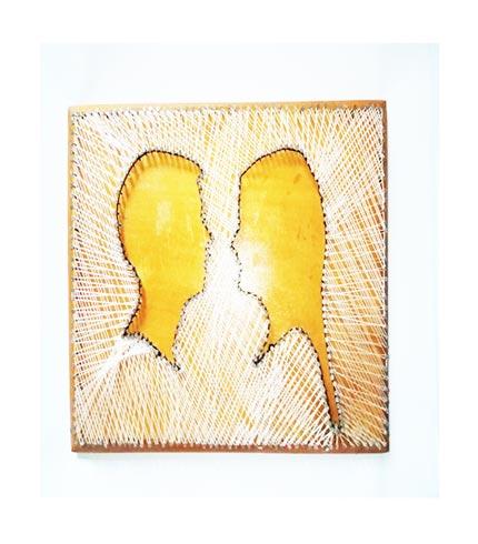 Man & Woman String Art