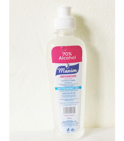 Maxim Advanced Hand Sanitizer