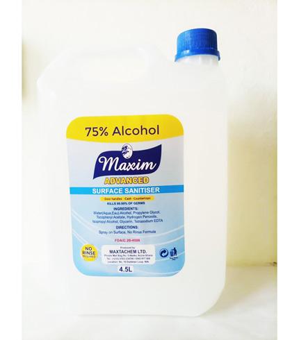 Maxim Surface Sanitiser