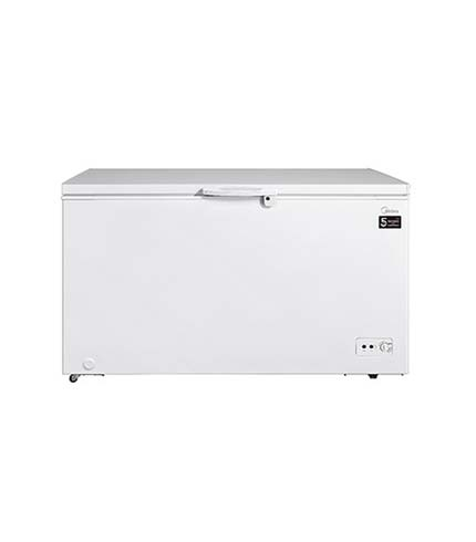 Midea 450Ltr Chest Freezer Silver