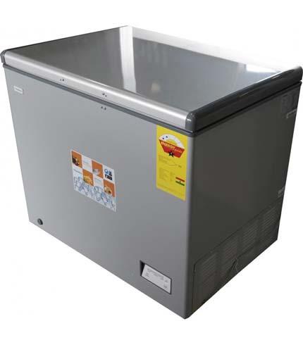 Nasco 260Ltr Chest Freezer Silver