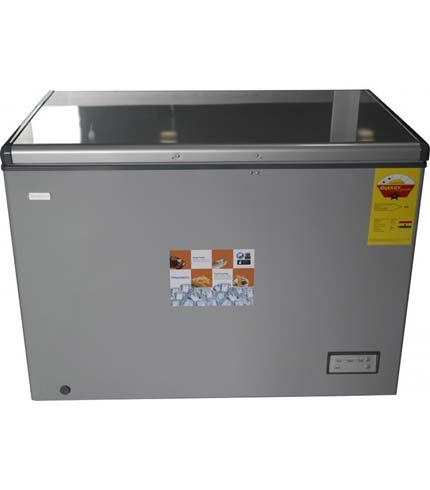 Nasco 320Ltrs Chest Freezer Silver