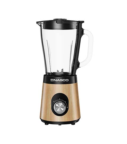 NASCO 500Watts Blender With Wooden Coating