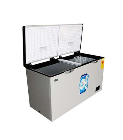 Nasco 592Ltrs Double Door Chest Freezer