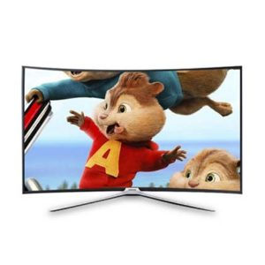 "Nasco 40"" Led Smart Digital Satellite Curved Tv"