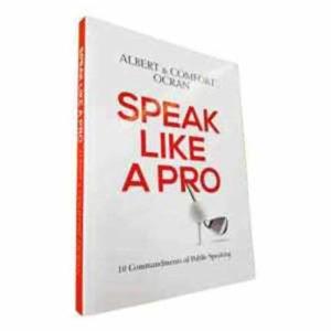 Speak like pro – Albert and Comfort Ocran