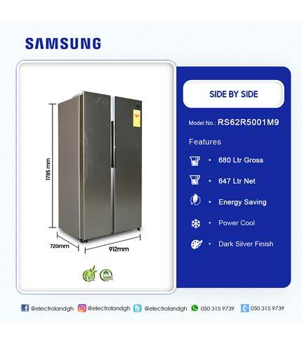 Samsung 647Ltr Side By Side Refrigerator