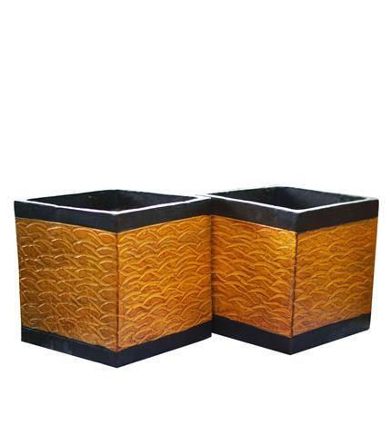 Square Boxes Flowerpot
