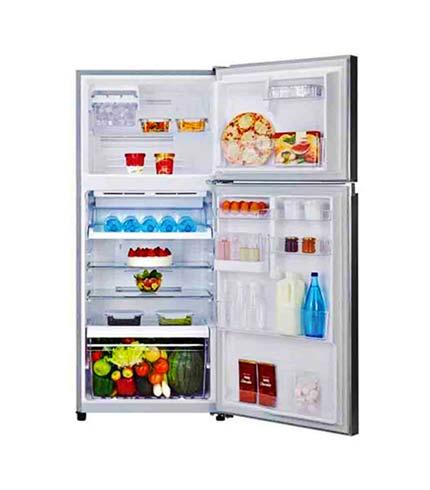 Toshiba 409Ltrs Top Freezer Refrigerator