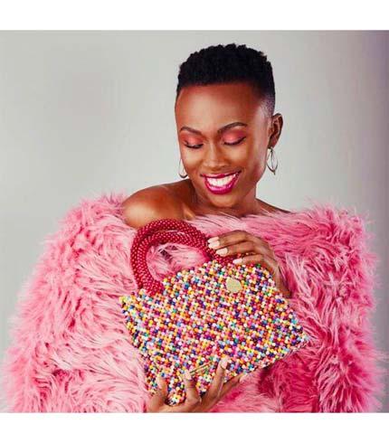 Multicoloured Beaded Designer Ladies Bag