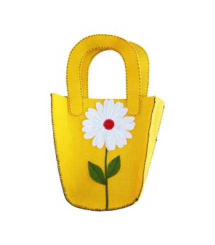 Yellow Ladies Handbag