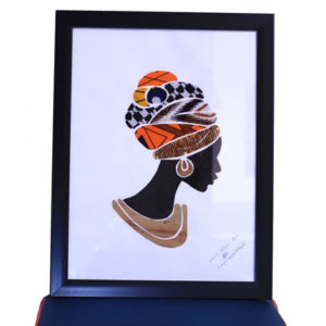 African Head Wraps with Style Artwork