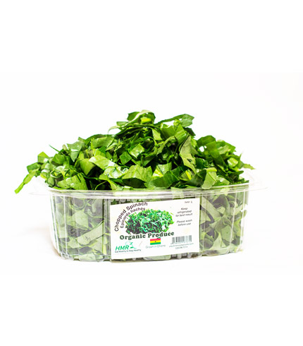 Fresh Organic Chopped Spinach
