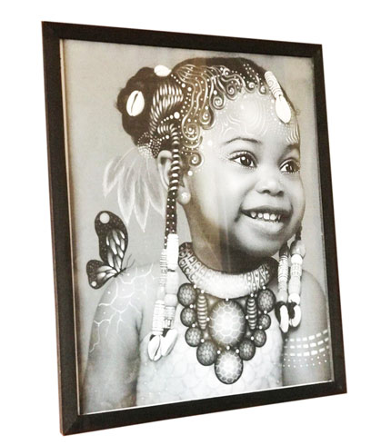 AfricanGirl Child Artwork