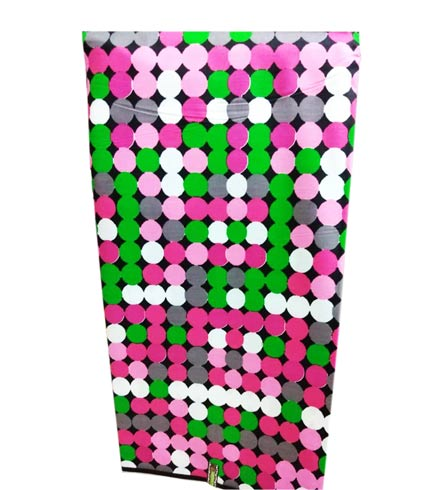 Pink & Green Woodin Cloth