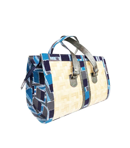 Blue Bamboo Ladies Bag