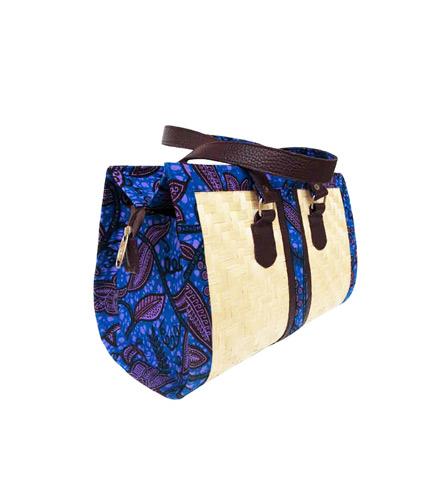 Dark Blue Bamboo Ladies Bag