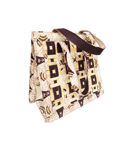 Brown Bamboo Ladies Bag