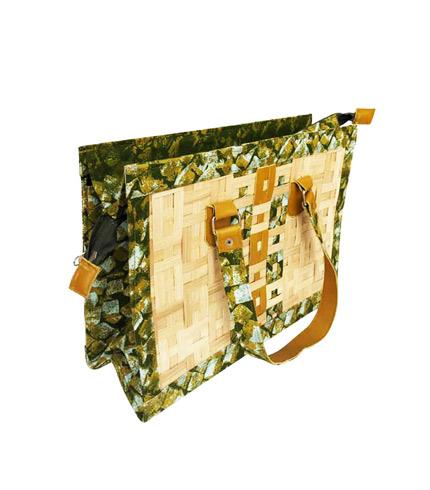 Green Bamboo Ladies Bag