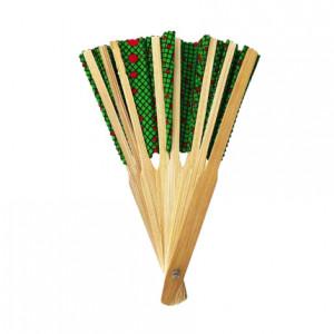 Green Bamboo Hand Fan