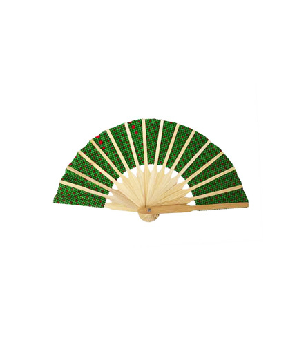 Green Bamboo Hand Fan
