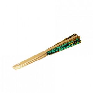 Bamboo Hand Fan - Green