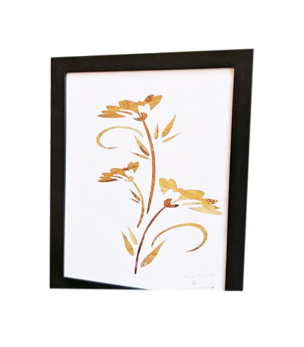 Ever Flourishing Flower of Love Artwork - Plantain Leaves