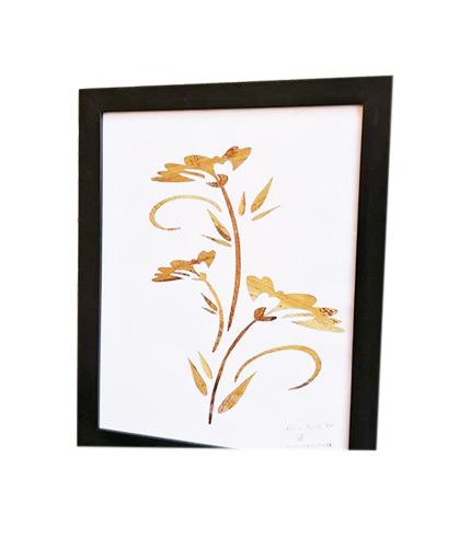 Ever Flourishing Flower of Love Artwork - Plantain Leaves